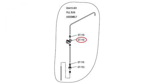 Herrmidifier Herrtronic Part #GT-118<br>Humidifier Metering Fill Solenoid