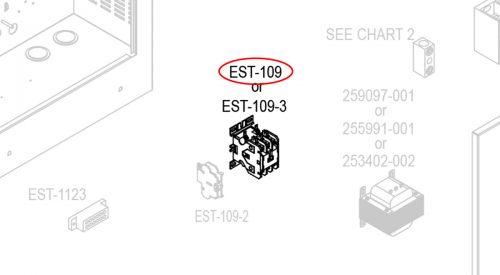 Herrmidifier Herrtronic Part #EST-109<br>Humidifier Contactor, 3 Pole, 40 Amp