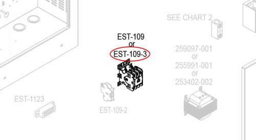 Herrmidifier Herrtronic Part #EST-109-3<br>Humidifier Contactor, 3 Pole, 65 Amp