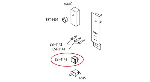 Herrmidifier Herrtronic Part #EST-1143<br>Humidifier On/Off/Drain Switch, Rocker DPDT