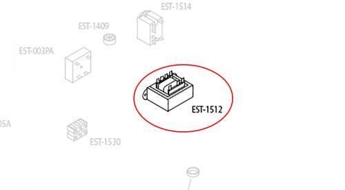 Herrmidifier Herrtronic Part #EST-1512<br>Humidifier Transformer, 115/230, 24V, 50VA