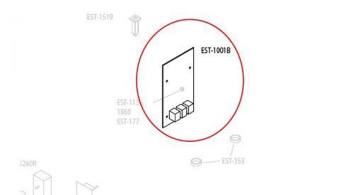 Herrmidifier Herrtronic Part #EST-1001B<br>Humidifier Main Circuit Board