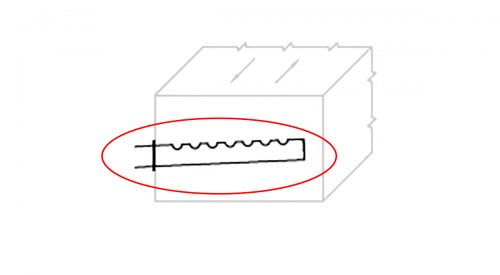 Herrmidifier Part #EST-111/12 Steam Tube<br>Minimum Duct Width: 12″