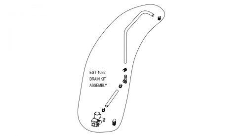 Herrmidifier Herrtronic #EST-1092<br>Humidifier Drain Kit Assembly